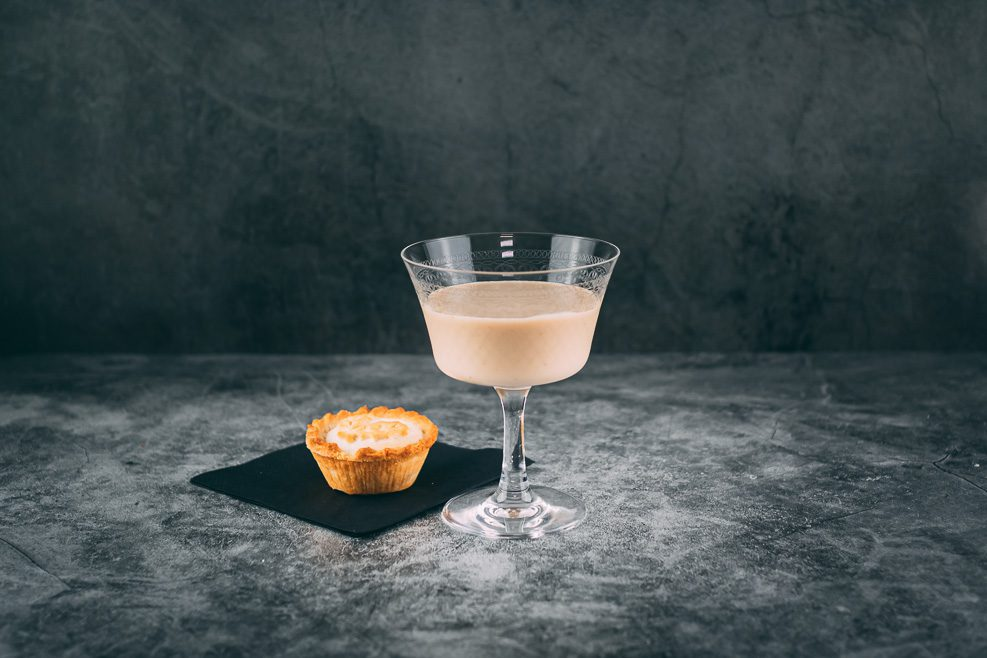 White Russian Christmas Cocktail
