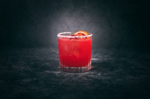 Blood Orange Margarita Cocktail